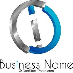 Letter logo i