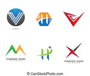 Letter logo vector icon