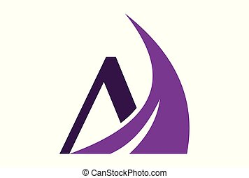 letter M abstract logo vector