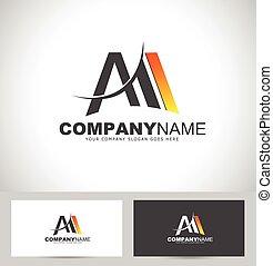 Letter M Logo Design - Creative Letter M Design. Letter M...