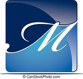 Letter M Logo Design Template Vector