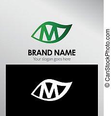 Letter m logo icon