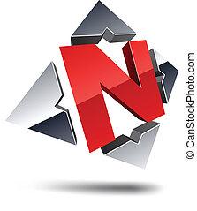 letter., n, 3d