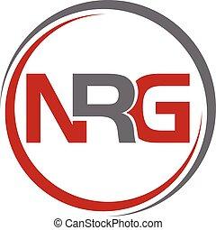 Letter N R G