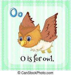 Letter O - O is for owl