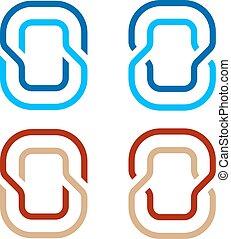letter O number 0 zero icon symbol