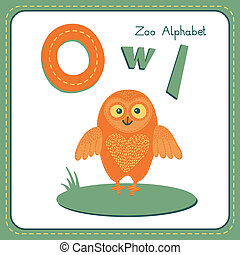 Letter O - Owl