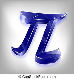 letter of the Greek pi alphabet