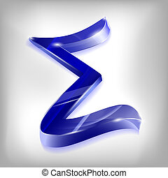 letter of the Greek sigma alphabet