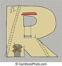 Letter R Building