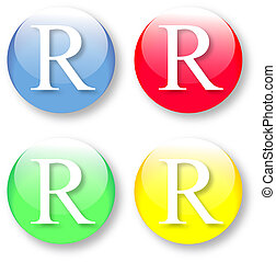 Letter R icon from the English alphabet - Letter R Times New...