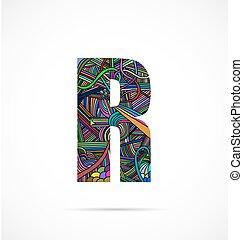 """Letter """"R"""""""