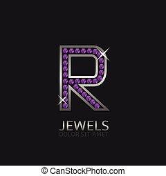 Letter R logo