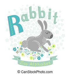 Letter R - Rabbit