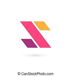 Letter S logo icon design template elements