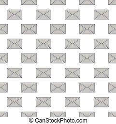Letter seamless pattern