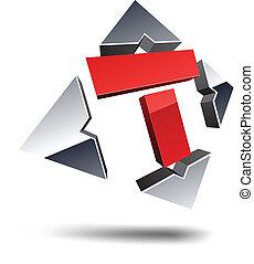 letter., t, 3d