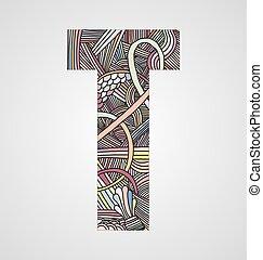 "Letter ""T"""