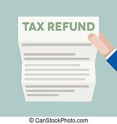 Letter Tax Refund