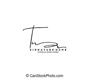Initial Signature logo design. Logo for fashion,photography, wedding, beauty, business company.