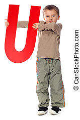 "Letter \""U\"" boy"
