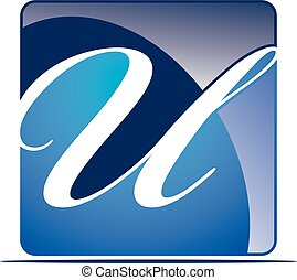 Letter U Logo Design Template Vector