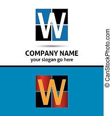 Letter W logo icon