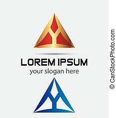 Letter Y logo symbol design templat