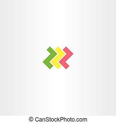 letter z logo logotype vector symbol design