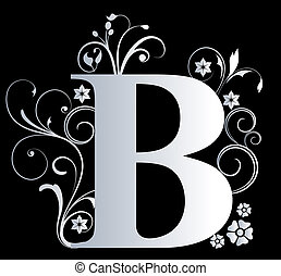 lettera maiuscola, b