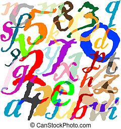 lettere, fondo