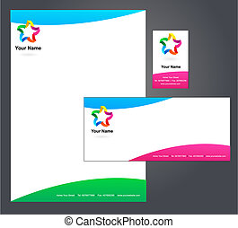 Letterhead design with logo - 5