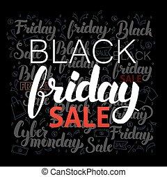 Lettering Black Friday Sale