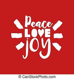 lettering, citação, ilustração, feliz, texto, natal