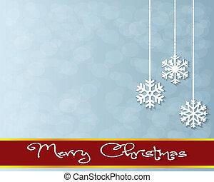 lettering, groet, card., zalige kerst
