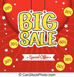 lettering hanging big sale special offer