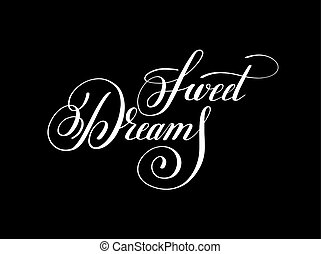 lettering, inscrição, doce, inspirat, positivo, sonhos, ...