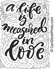 Lettering Love theme