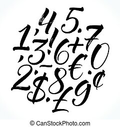 Lettering numbers
