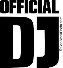 Lettering - official DJ