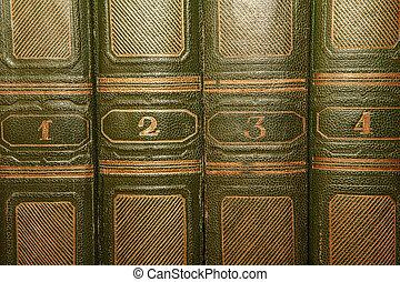 lettering, oud, goud, dekking, boekjes , volumes