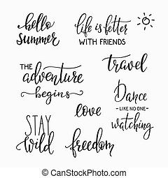 photography family overlay set - Lettering photography...