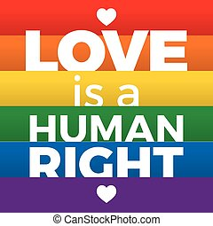 lettering, regenboog symbool, steun, iconen, lgbt, vlag,...