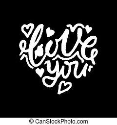 vector te amo calligraphy spanish translation of i love you phrase