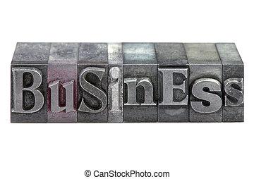 letterpress, affari