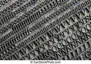 Letterpress blocks