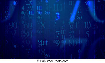 Letters in Latin and Arabic figures in cyberspace -...