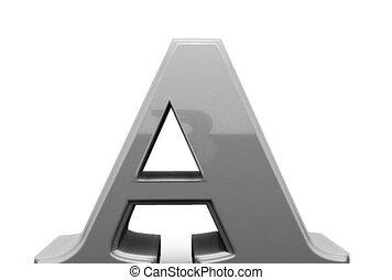 Letters sign. Alphabet. - Letter figures. Letters ABC. ...