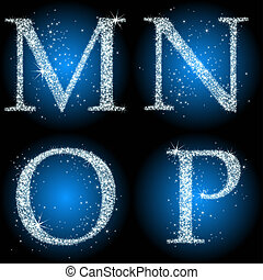 letters stars blue MNOP - letters stars blue MNOP, this...