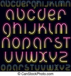 lettertype, luxe